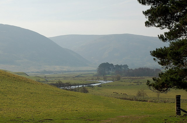 The Tweed Valley south of Drumelzier
