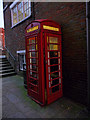 SU4729 : Winchester - Telephone Box by Chris Talbot