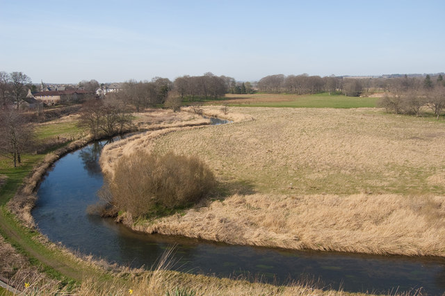 River Urie Meanders