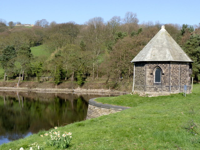 Valve house at Damflask