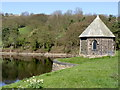 SK2890 : Valve house at Damflask by Alan Murray-Rust