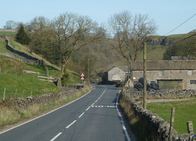 B6049 near Hazlebadge Hall