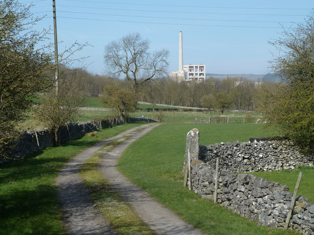 Farm track near Bradwell