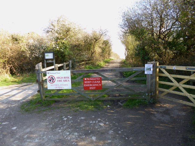 Godlingston Heath, warning signs