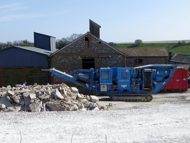 Demolition work, Manor Farm