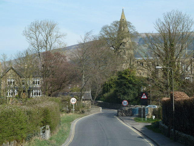 Pindale Road into Hope village