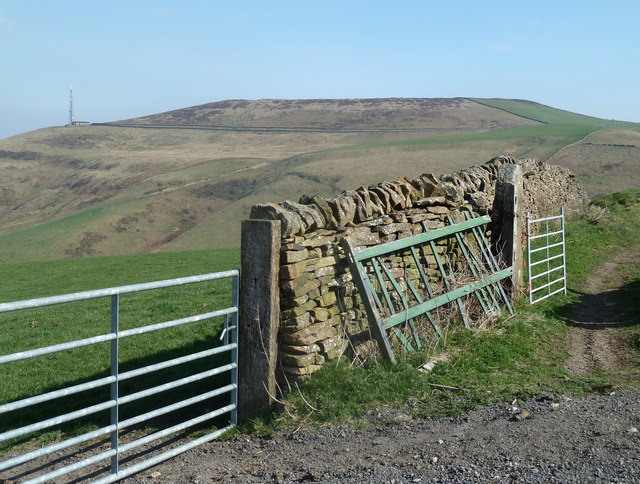 Wall and gates by Brough Lane