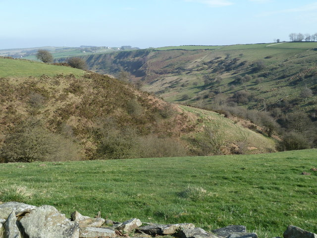 Upper part of Bretton Clough