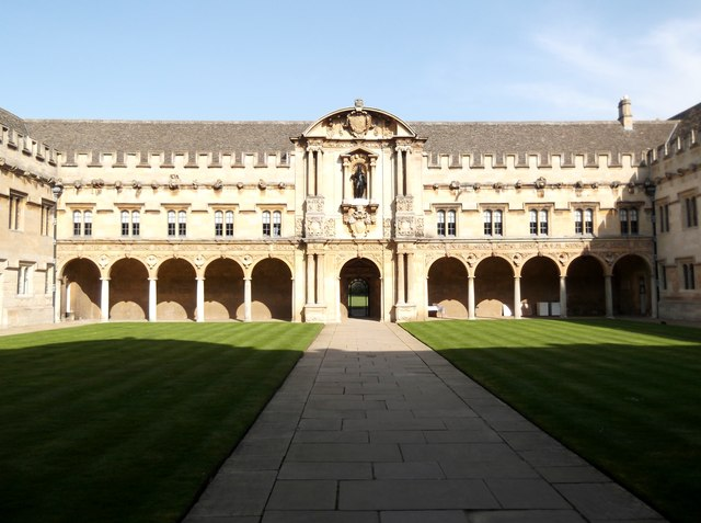 Quadrangle, St John's College, St Giles', Oxford