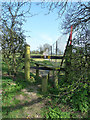 TL0618 : Footpath near Tipplehill Farm by Rob Farrow