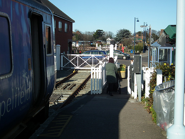 End of the national rail network at Sheringham