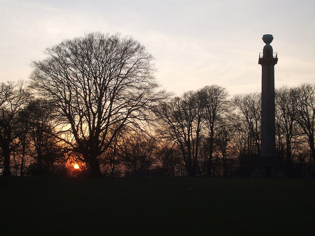Ashridge sunset