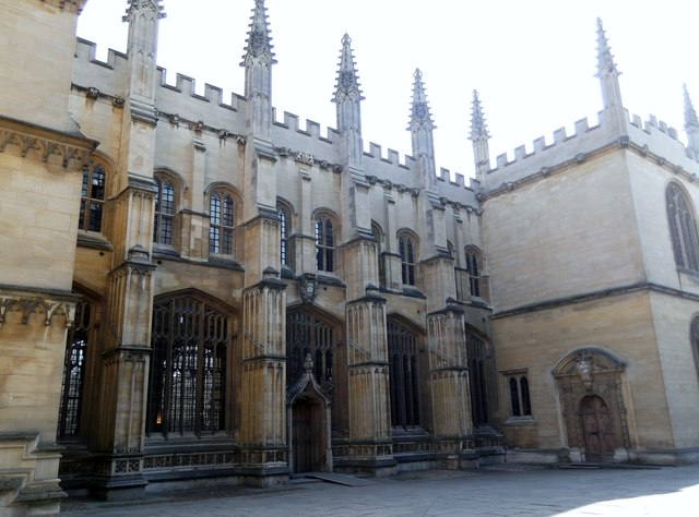 Bodleian Library Courtyard, Oxford