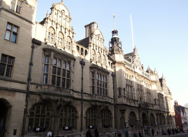 Town Hall, St Aldate's, Oxford