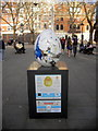 TQ2878 : Egg 47 in The Faberg&eacute; Big Egg Hunt by PAUL FARMER