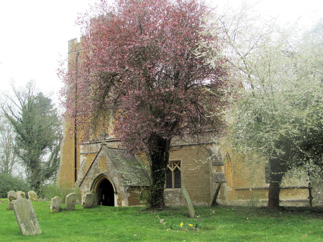 Looking towards the South Porch, St Mary the Virgin, Mentmore