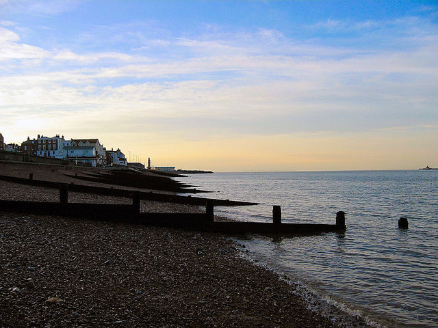 The beach at Herne Bay, Kent