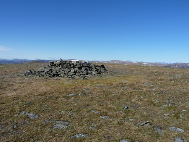 At the summit of Driesh