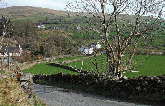 Kentmere village