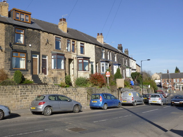 Houses at Malin Bridge