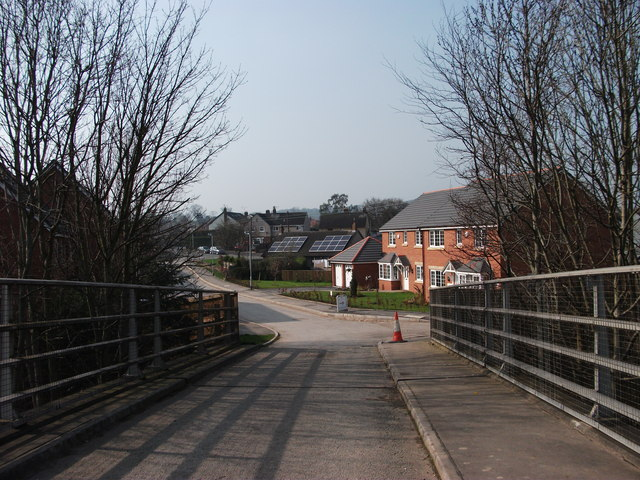 View across the accommodation bridge