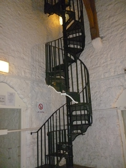Spiral staircase, Carfax Tower, Queen Street, Oxford