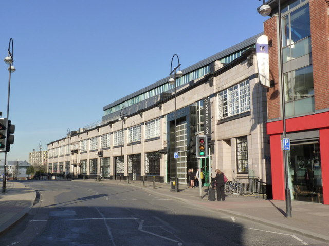 The Showroom and Workstation, Paternoster Row