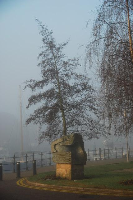 Statue Railway Dock
