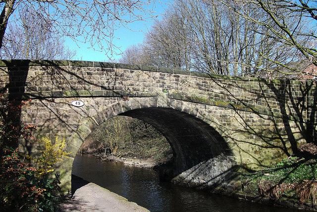Bridge 49, Rochdale Canal