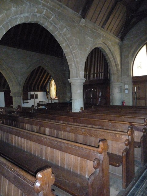 Inside St Peter, Chailey (XLIII)