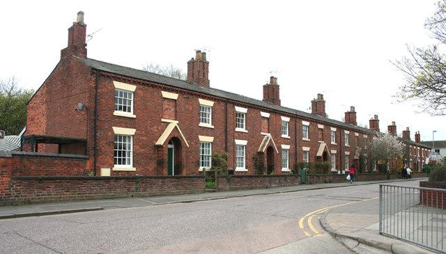 Former railway houses, Victoria Street, Crewe