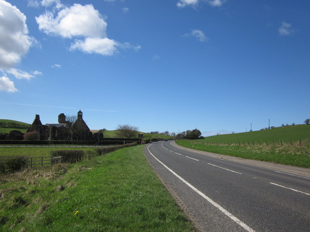 A77 Towards Kirkoswald