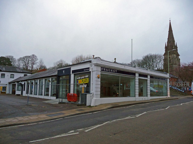 Winchester - Former Car Showroom