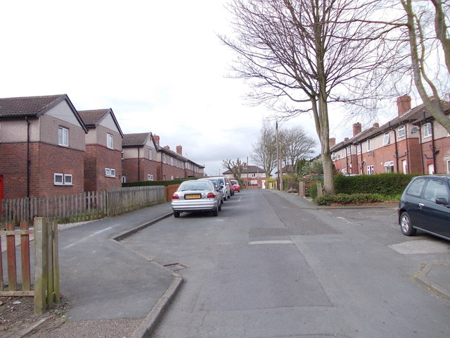 Shirley Grove - looking towards Shirley Road
