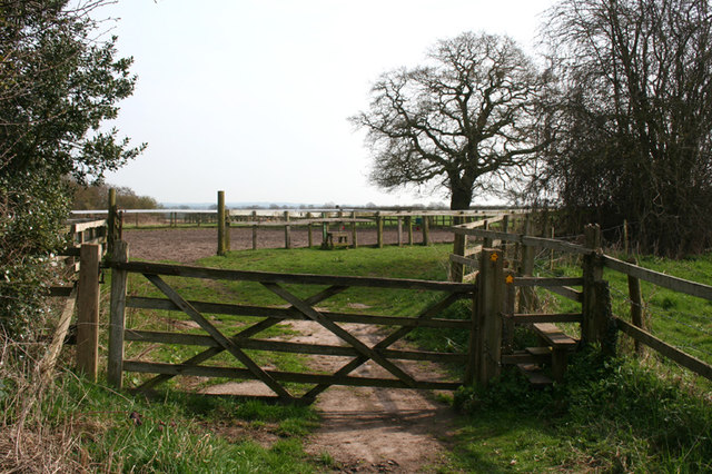 Paddocks near the Broomhall Riding School