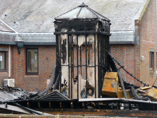 Winchester - Fire Damage