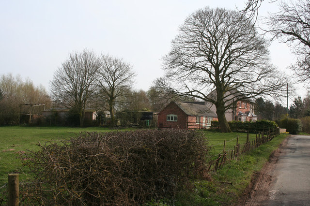 View towards Smithy House, Broomhall Green