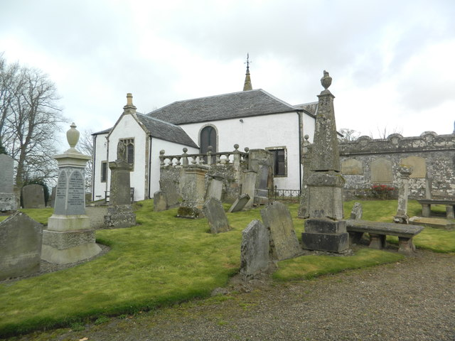 Culter Parish Church and graveyard
