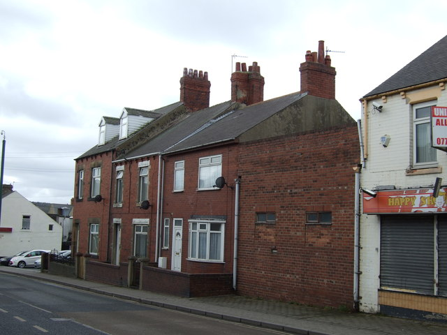 Houses on Park Road, South Moor