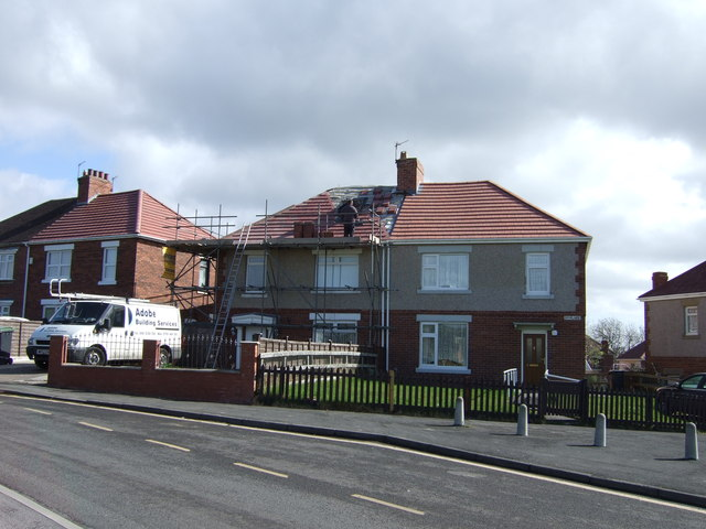 Houses, Woodside Grove