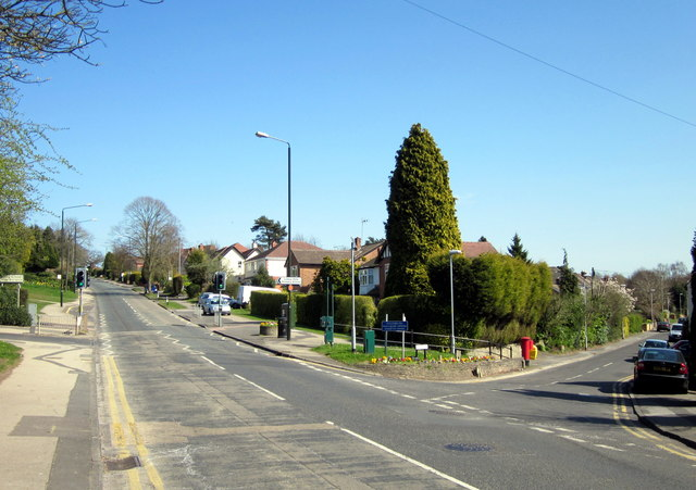 Old Birmingham Road, Junction with Lickey Square 1st April 2012