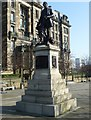NS6065 : David Livingstone statue, Cathedral Square by kim traynor