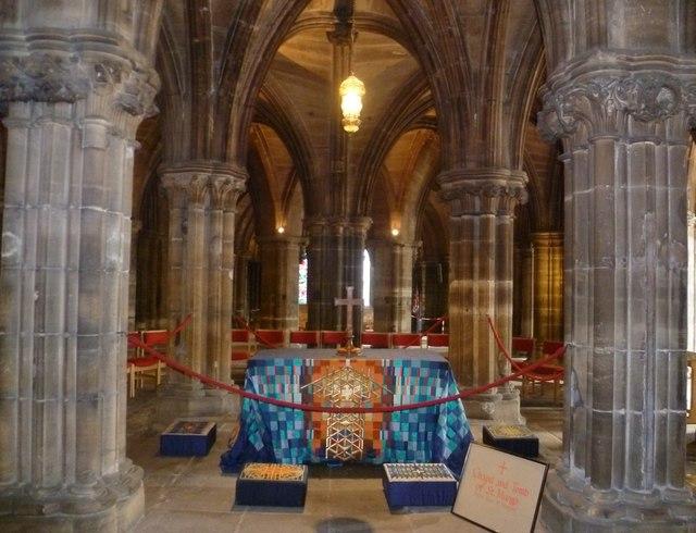 Shrine Of St Mungo Glasgow Cathedral 169 Kim Traynor