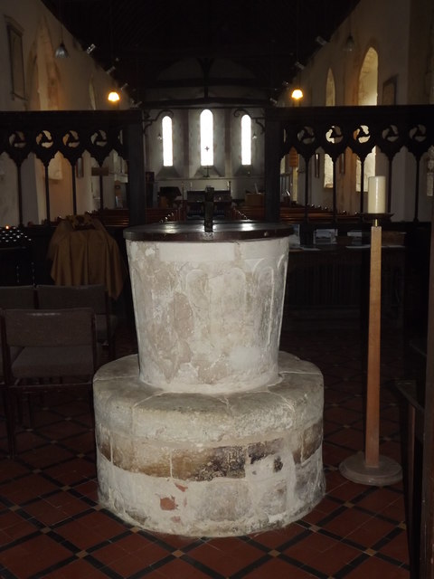 Inside West Thorney Church