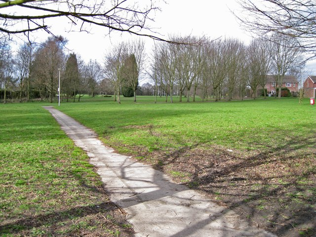 Public park in West Heath