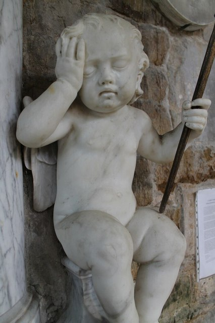 Putto on Memorial to Richard Welby