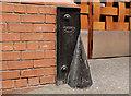 J3373 : Corner protection, Belfast (10) by Albert Bridge