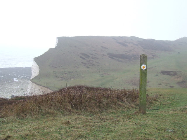 Vanguard Way near cuckmere Haven