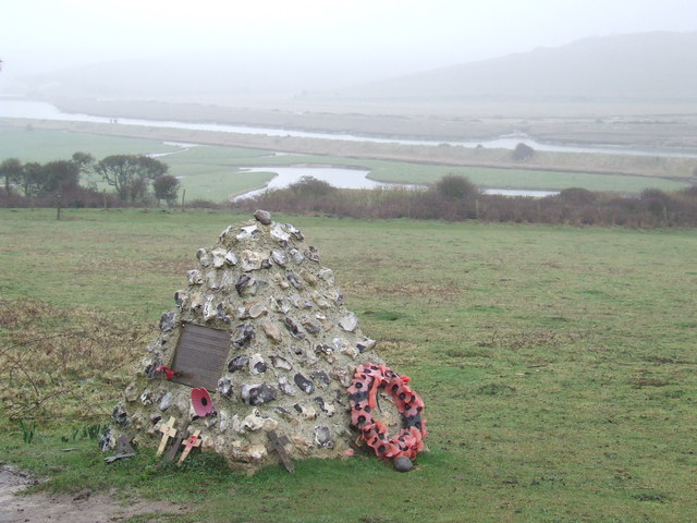 War memorial, Cuckmere Haven