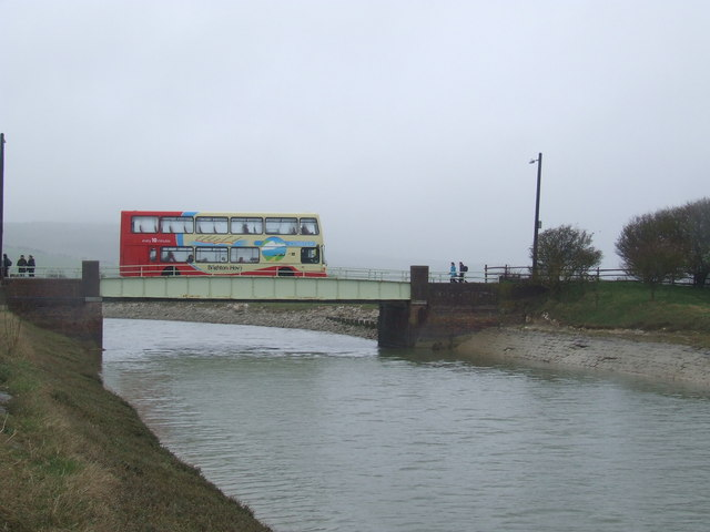 Exceat Bridge near Seaford